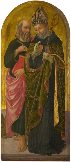 Saint Mark and Saint Augustine