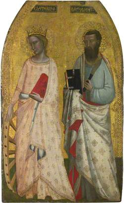Saint Catherine and Saint Bartholomew