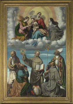 The Virgin and Child with Saint Bernardino and Other Saints