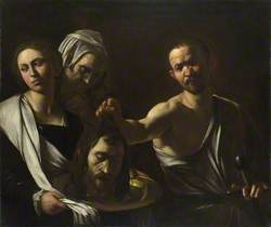 Salome receives the Head of John the Baptist