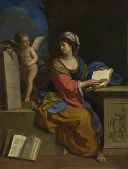 The Cumaean Sibyl with a Putto