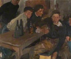 The Drunkard, Zarauz (El Borracho, Zarauz)