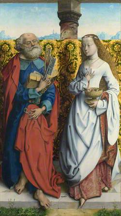 Saints Peter and Dorothy