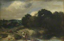 A Landscape with Tobias and the Angel