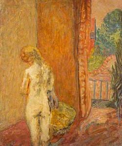 Nude by Garden Door