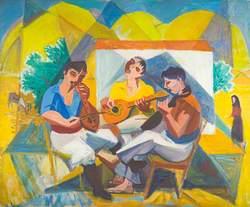 Cretan Musicians