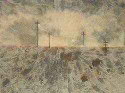 Landscape with Telegraph Poles