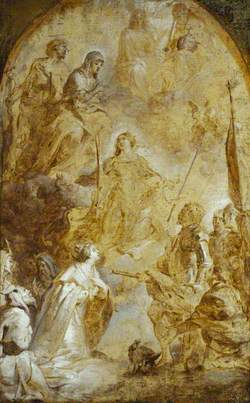 The Ascension of Saint Catherine