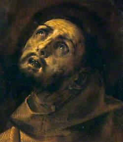 The Head of Saint Francis in Ecstasy