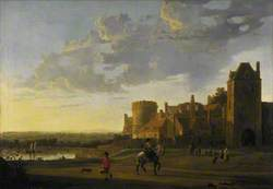 Landscape with a View of the Valkhof, Nijmegen