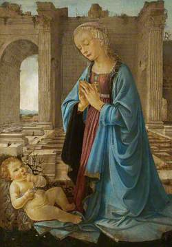 The Virgin Adoring the Christ Child (The Ruskin Madonna)