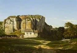Cliffs Near Cremieu