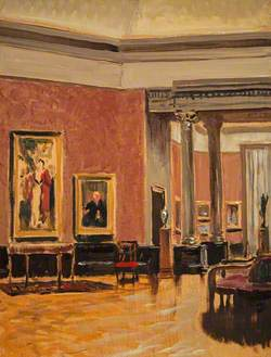 The Interior of the National Gallery of Scotland