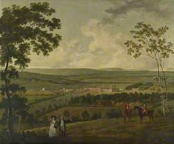 A Prospect of Southwick Park with the Norton Family in the Foreground