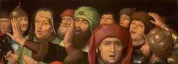 A Jeering Crowd: Fragment of a Mocking of Christ