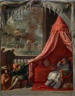 The Dream of Saint Hugh, Bishop of Grenoble