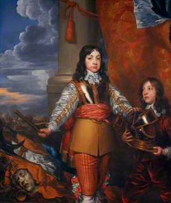 Charles II (1630–1685), King of Scots (1649–1685), King of England and Ireland (1660–1685), as Prince of Wales, with a Page