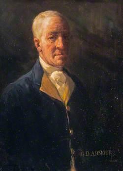 George Denholm Armour (1864–1949), Artist, Self Portrait
