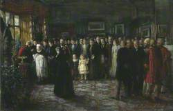 The Baptism of Prince Maurice of Battenberg