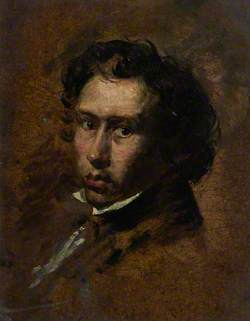 James Eckford Lauder (1811–1869), Artist, Self Portrait