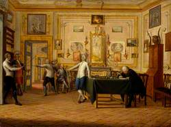 Kenneth Mackenzie (1744–1781), 1st Earl of Seaforth, at Home in Naples: Fencing Scene