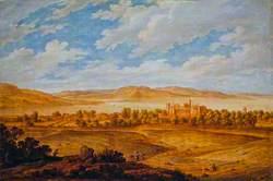 Seton Palace and the Forth Estuary