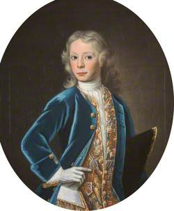 Lieutenant-Colonel Alexander Murray of Cringletie (1719–1762), as a Child