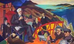 Christopher Murray Grieve (1892–1978), Poet and Writer (Nom de Plume Hugh MacDiarmid) (Hymn to Lenin)