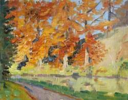 Trees in Autumn, Lagan