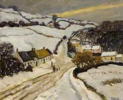 Winter above Ligoniel