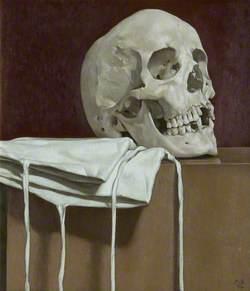 Skull – bianco e vermiglio