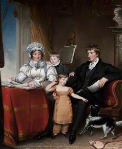 Francis Johnston (1760–1829), His Wife and Two Nephews