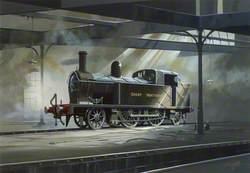 Great Northern Railway Locomotive No. 90 in Adelaide Shed, Belfast