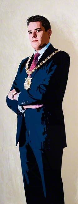 Gavin Robinson, The Right Honorable, The Lord Mayor of Belfast (2012–2013)