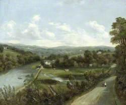 The River Lagan at Stranmillis