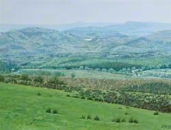 Fermanagh Landscape from Lough Navar