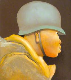 Head of an American Soldier
