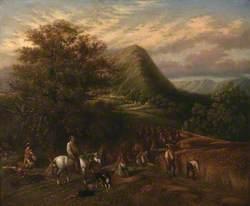 Haymaking near Abergavenny