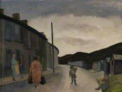 Street Scene with Children