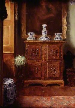 The Hoda Cum Tewdwr Cabinet at Derwydd