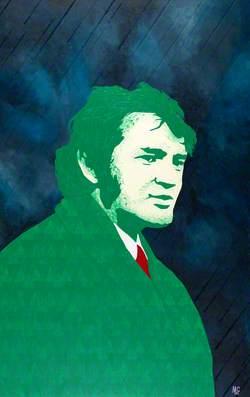Dafydd Iwan yn y Glaw (b.1943)