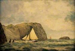 Boats off Llanlleiana