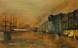 The Custom House, Liverpool, Looking North