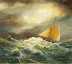 Cutter in a Rough Sea