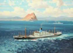 'Perseus' off Gibraltar