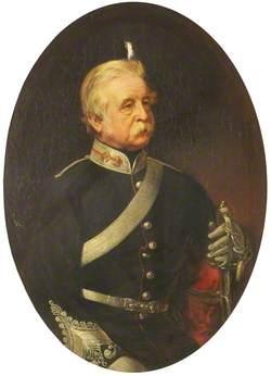 Colonel Aitcheson (d.1877), Captain of the Royal Artillery, Commanded the Royal Lancashire Artillery (1857–1863)
