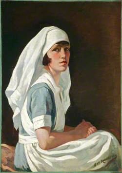 Wynne Walker, the Artist's Wife