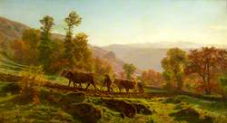 Ploughing, Early Morning