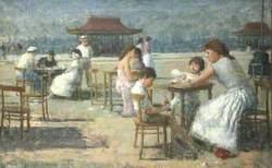 Outdoor Café Scene