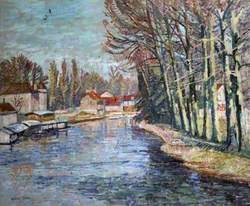 The River at Moret-sur-Loing